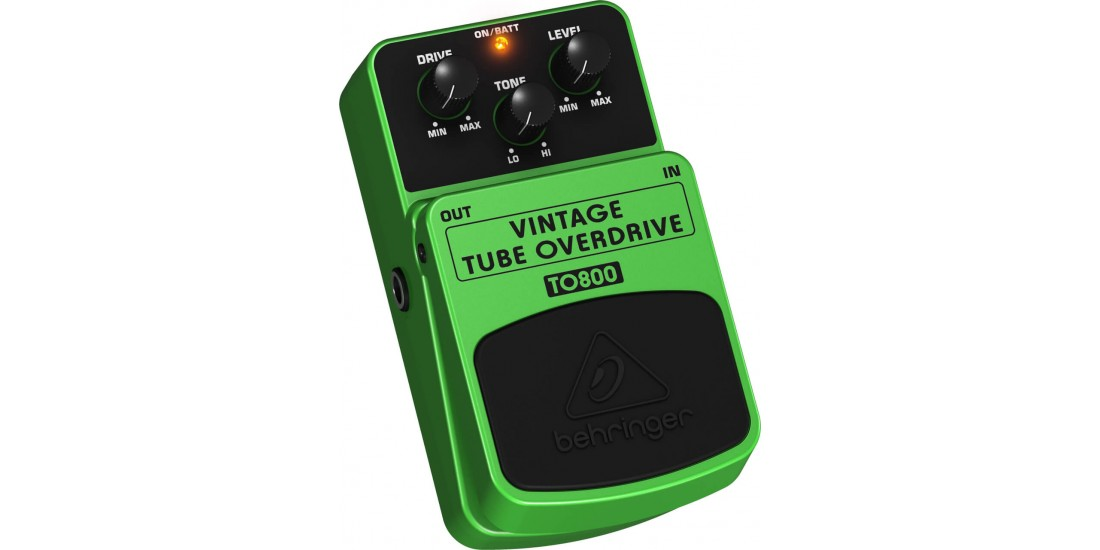 Behringer  TO800  Vintage  Tube  Sound  Overdrive  Guitar  Effects  Pedal