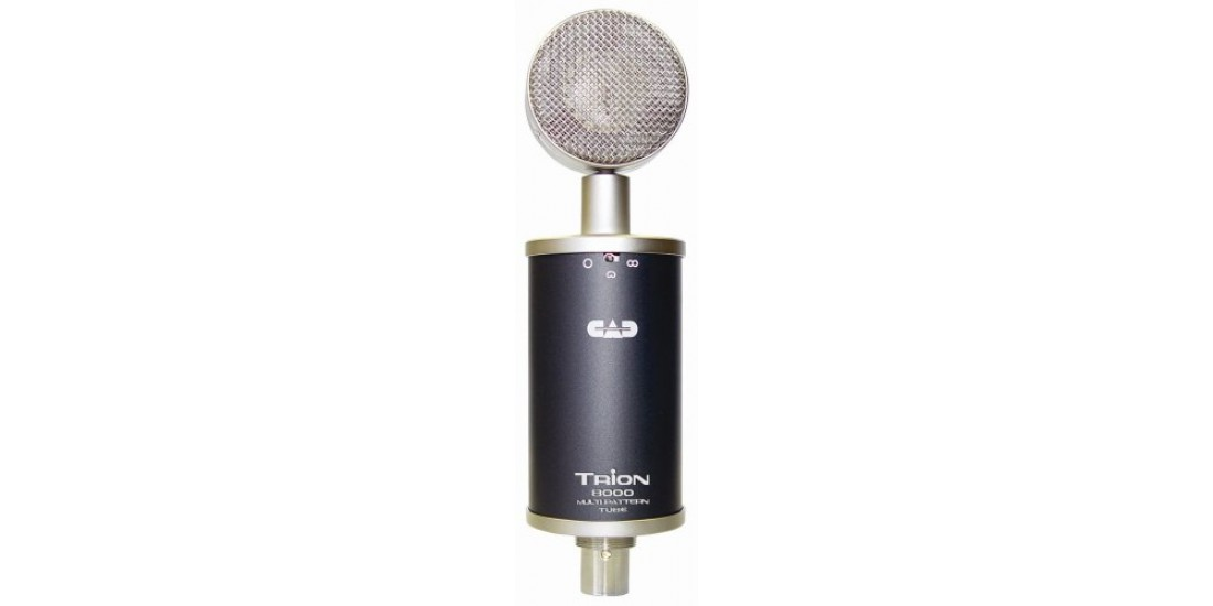 CAD Audio TRION 8000 Large Diaphragm Multi-pattern Condenser Tube Microphone