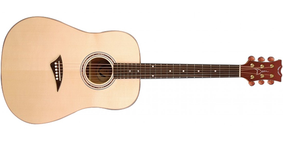 Dean TS2-GN Tradition Solid Spruce Top Acoustic Guitar - Gloss Natural