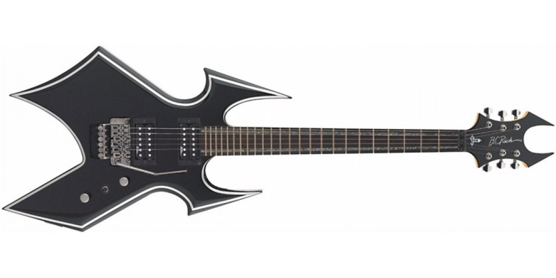 BC Rich TWBSTTRO Warbeast Electric Guitar Tremolo Black