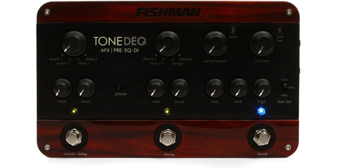 Fishman ToneDEQ Acoustic Instrument Preamp with Effects