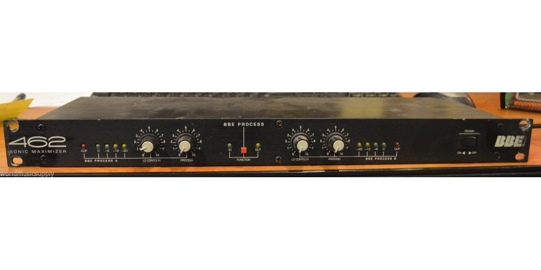 USED BBE Sonic Maximizer 462 Rack-Mountable 2 Channels