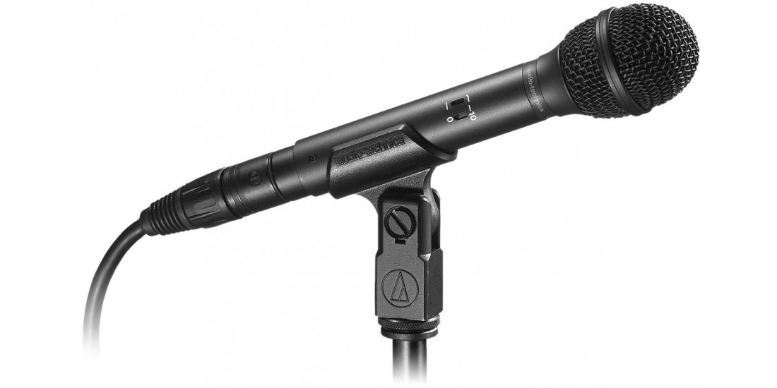 Audio  Technica  U873R  Condenser  Hypercardioid  Handheld  Vocal  Microphone