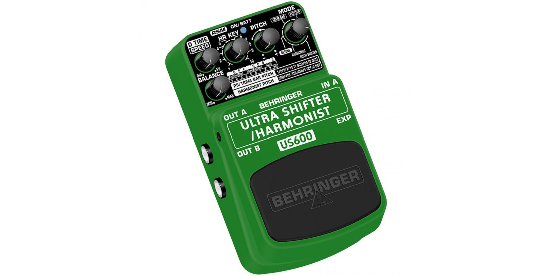 Behringer Ultra Shifter US600 Pitch Shifter Harmonist Effects Pedal