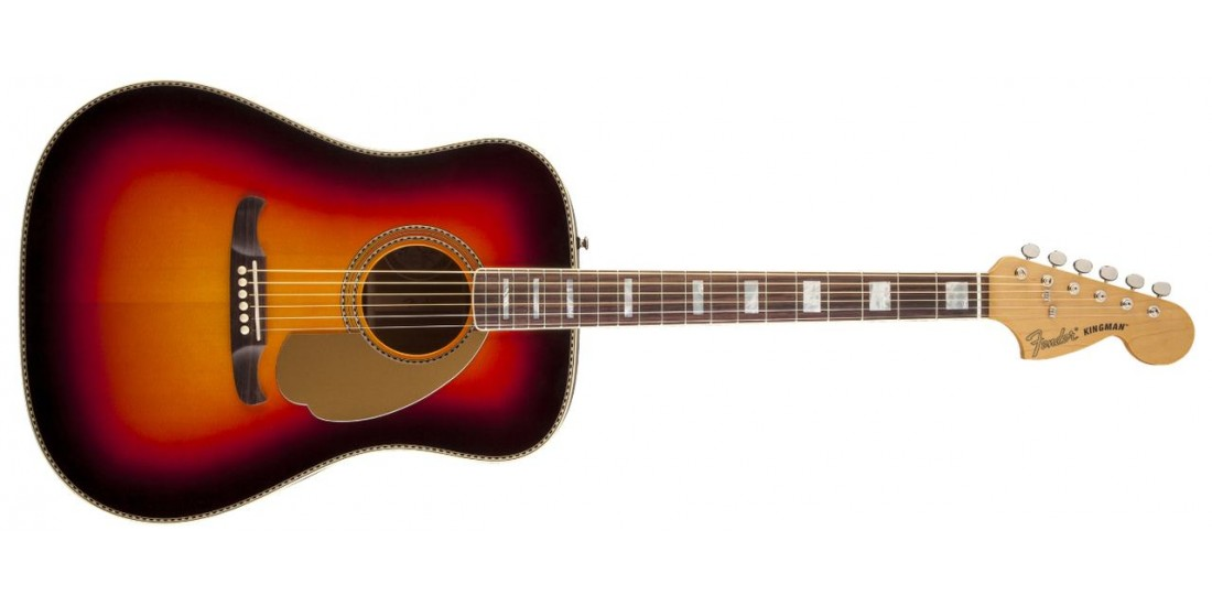 Fender USA Custom Shop Kingman Pro Bolt On Acoustic Electric Guitar