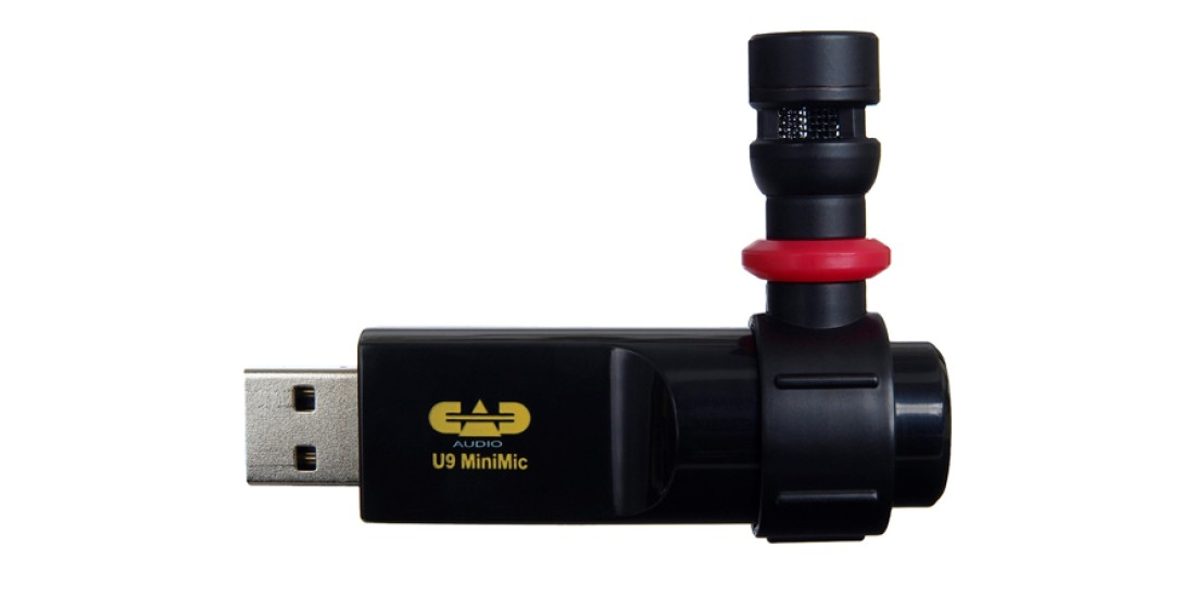 CAD Audio U9 USB Omnidirectional Condenser MiniMic