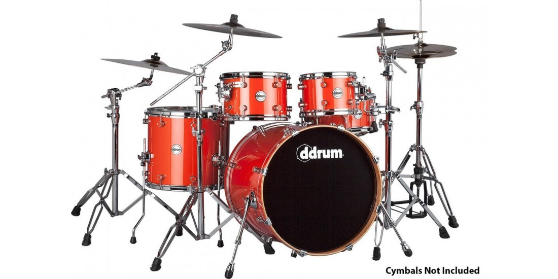 ddrum Reflex 522 5PC 5 Piece Drum Set Orange Sparkle
