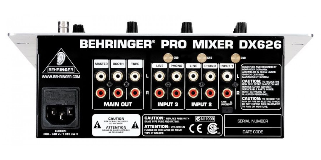 Behringer  PRO  MIXER  VMX100USB  -  Analog  mixer  -  2-channel