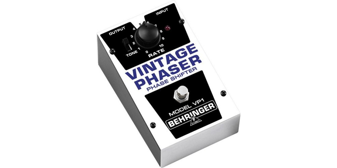 Behringer VP1 Authentic Vintage Style Phaser Guitar Effects Pedal