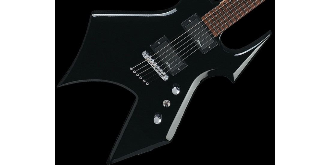 BC Rich WBSTGBK Warbeast Electric Guitar Black