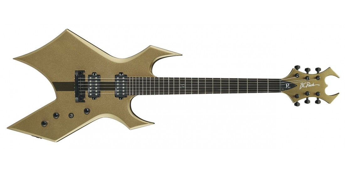 BC Rich WGCBG Warlock Core Electric Guitar Burnished Gold