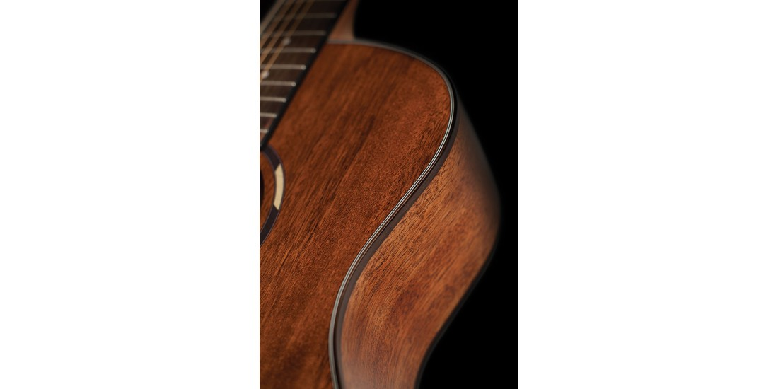 Washburn WLO12SE Woodline Orchestra Solid Mahogany top Acoustic Electric Guitar Natural