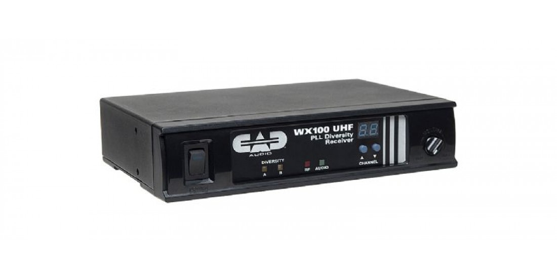 CAD Audio WX100B UHF Wireless Microphone Receiver