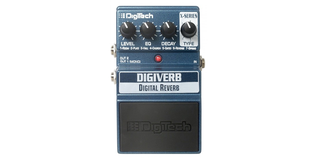 Digitech XDV X-Series Digital Reverb and Cabinet Modeling Outputs