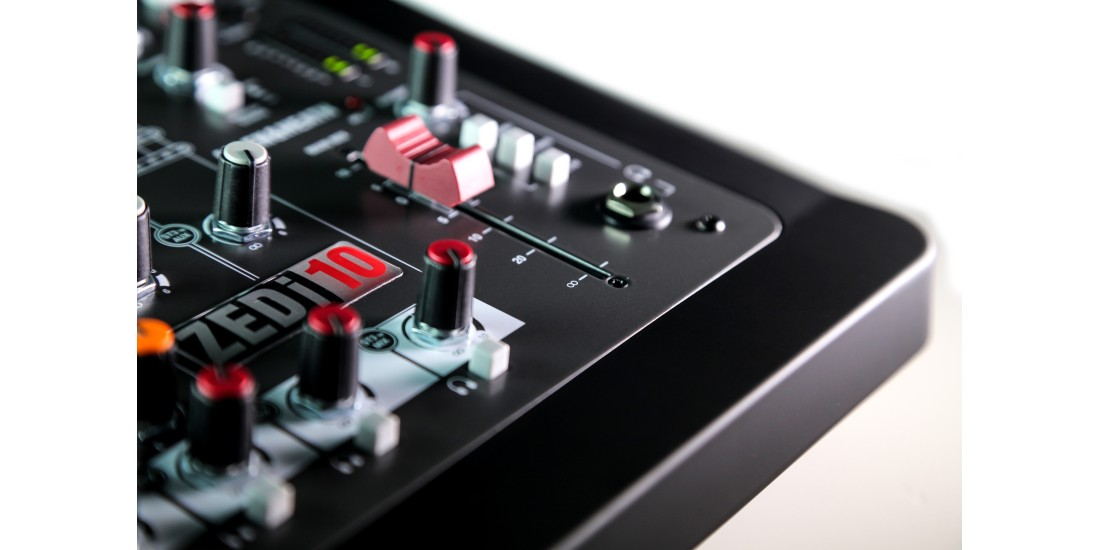 Allen  &  Heath  ZEDi-10  Compact  10  Input  Audio  Mixer  USB  Interface