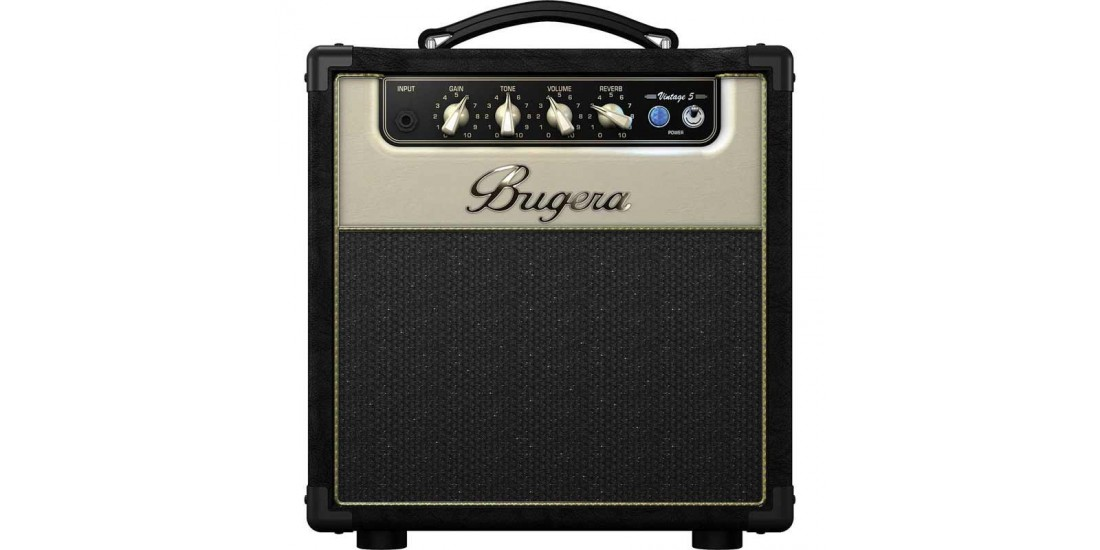 Bugera  V5  Infinium  Tube  Electric  Guitar  Amplifier  with  Turbosound  Speaker
