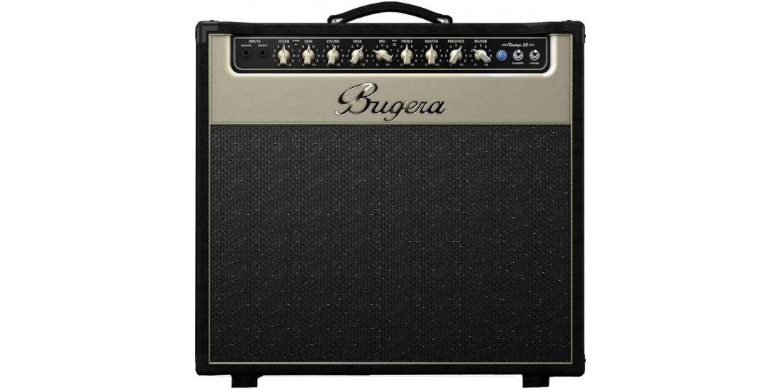 Bugera V55 Infinium 2 channel Tube Electric Guitar Amplifier with Turbosound Speaker