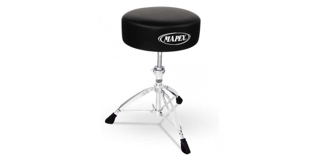 Mapex T750A Double Braced Throne with Thick Round Cushioned Seat