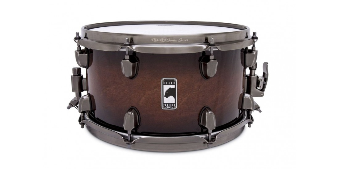 Mapex  BPML3700LNWU  Black  Panther  Snare  Drum  -  The  Blaster