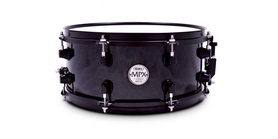 Mapex MPBC3600BMB MPX Series Birch Snare Drum in Transparent Black