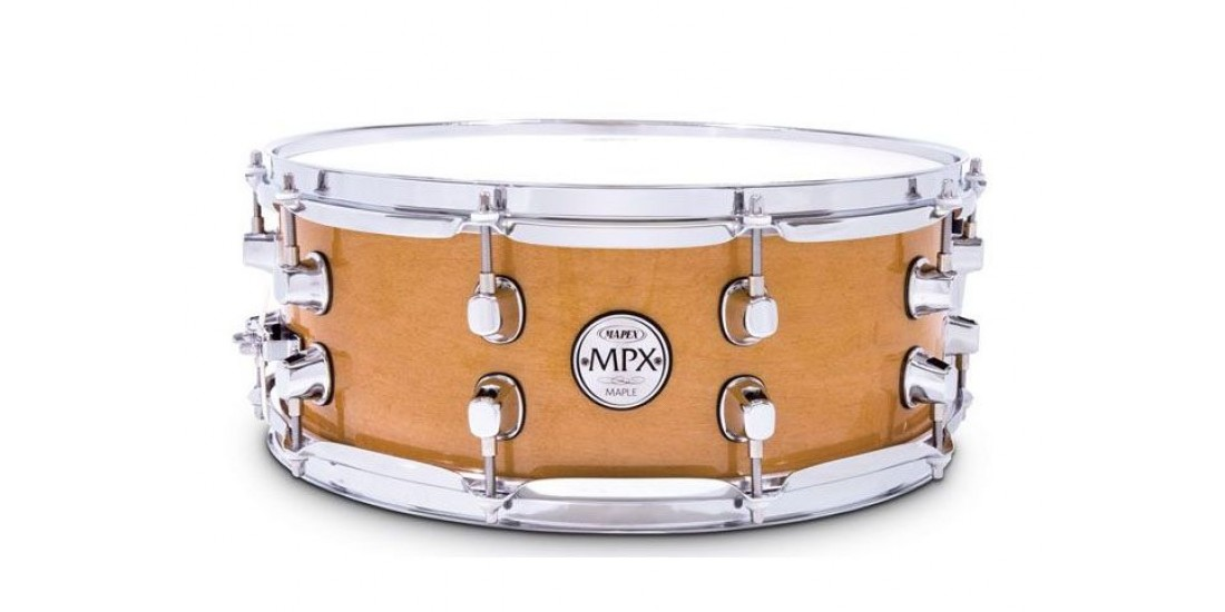 Mapex MPML4550CNL MPX Series Maple Snare Drum in Natural Gloss