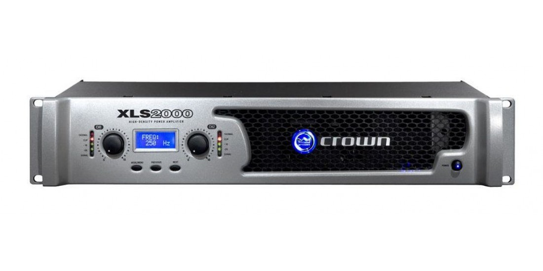 Crown XLS2000 DriveCore Power Amp