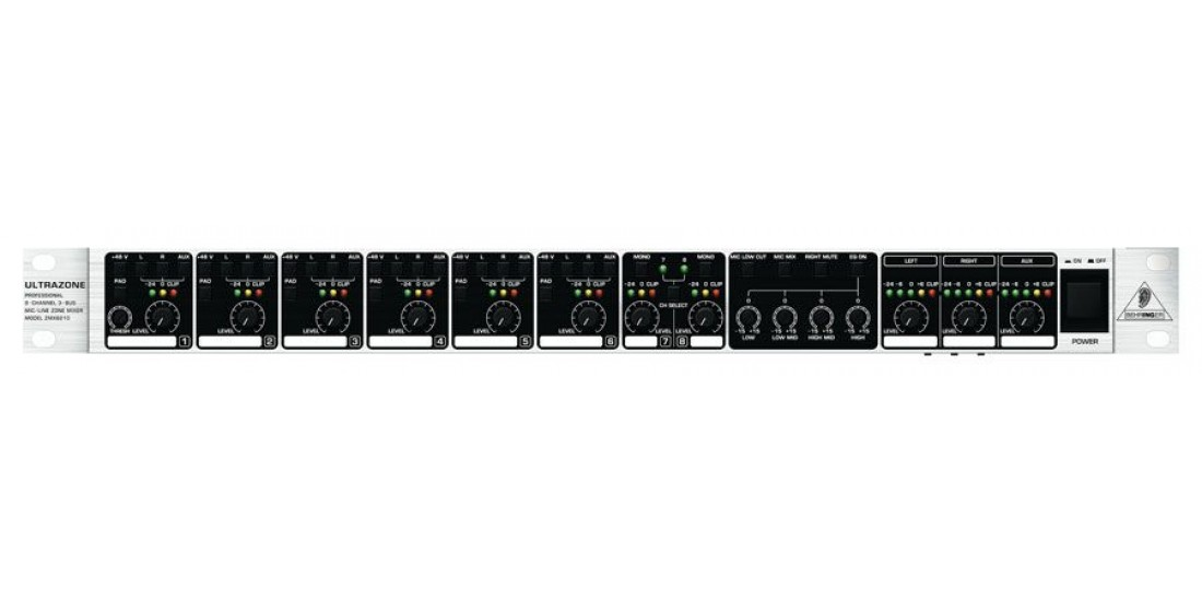 Behringer ZMX8210 Rack Mount Zone Mixer