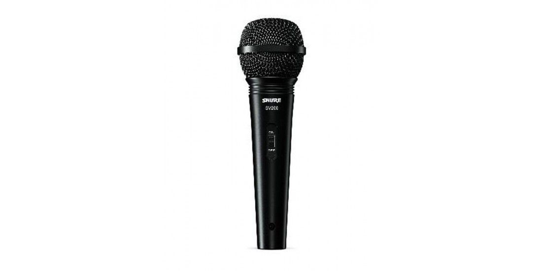 Shure SV200 Dynamic Cardioid Vocal Microphone 2
