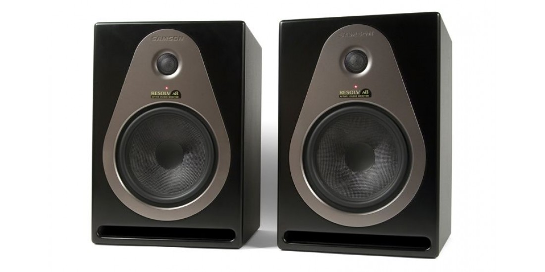 samson resolv a8 active 8 inch 200 watt studio monitors pair. Black Bedroom Furniture Sets. Home Design Ideas
