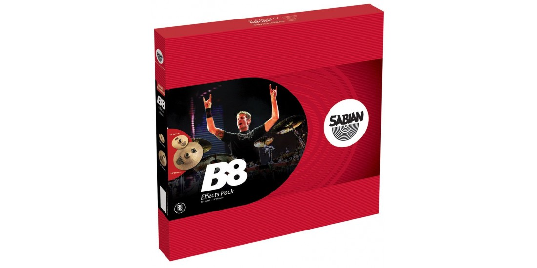 Sabian B8X Effects Pack Cymbal Package
