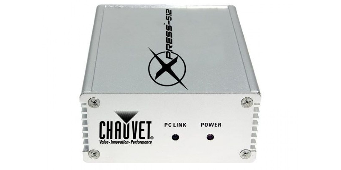 Chauvet Show Xpress-512 DMX Lighting Control Interface Box