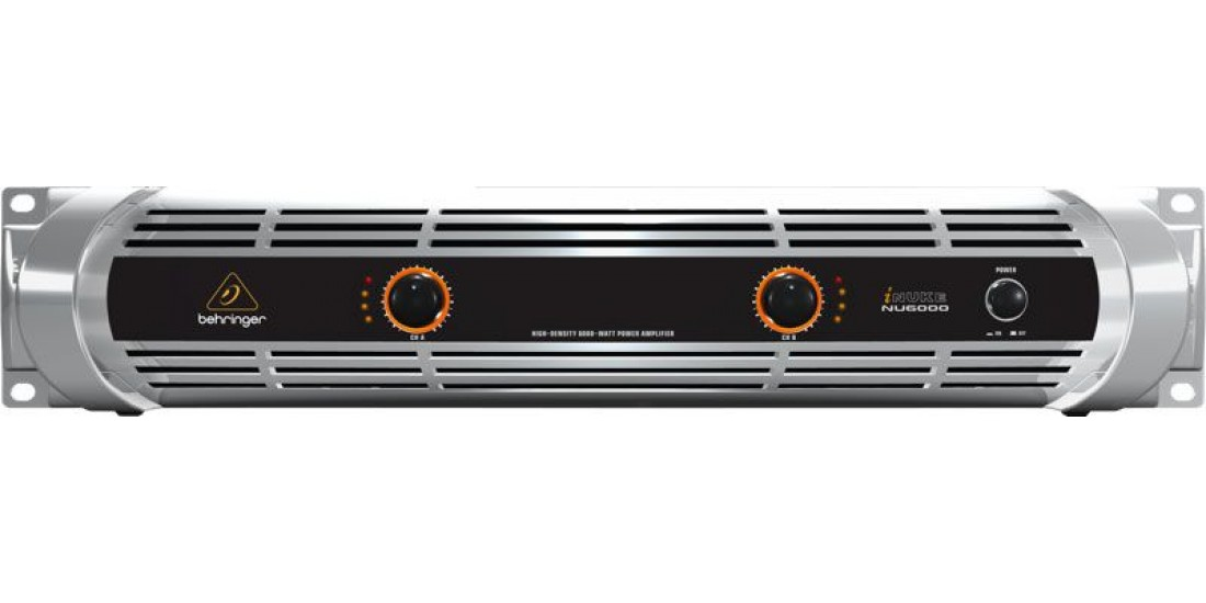 Behringer NU6000 Stereo Power Amplifier