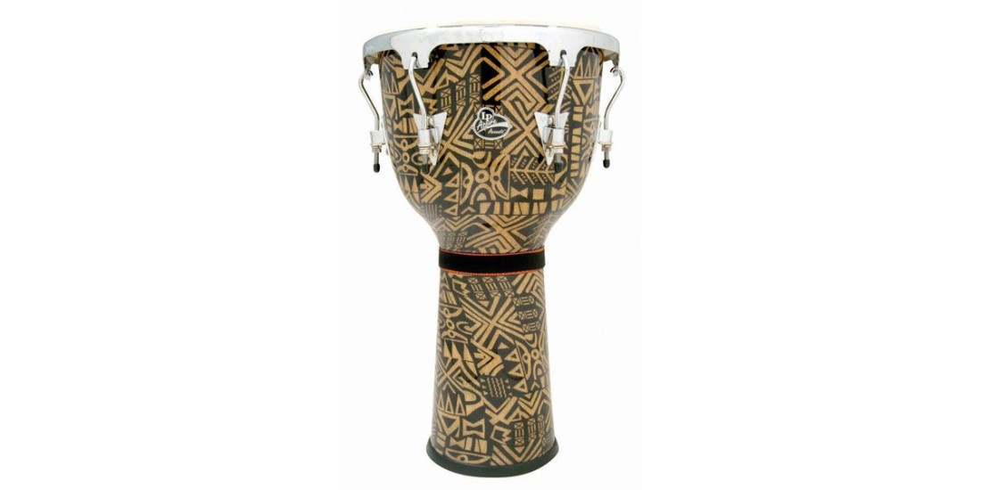 Latin Percussion Aspire Accent Wood Djembe 12 1/2 inch Serengeti
