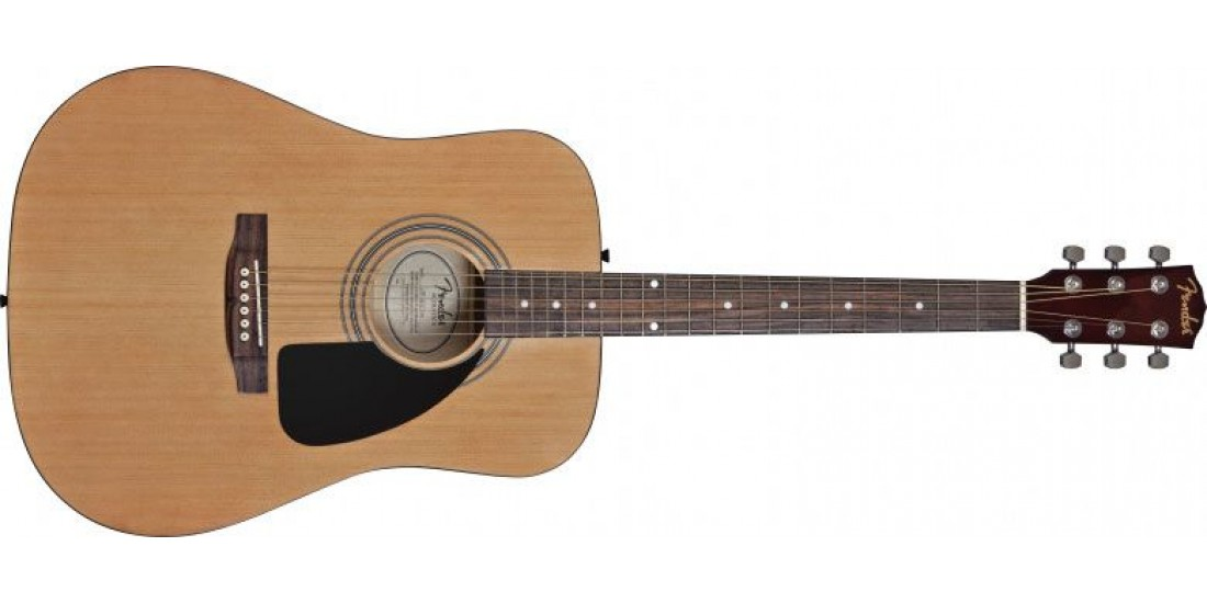 Fender FA-100 Dreadnought Acoustic Guitar Package