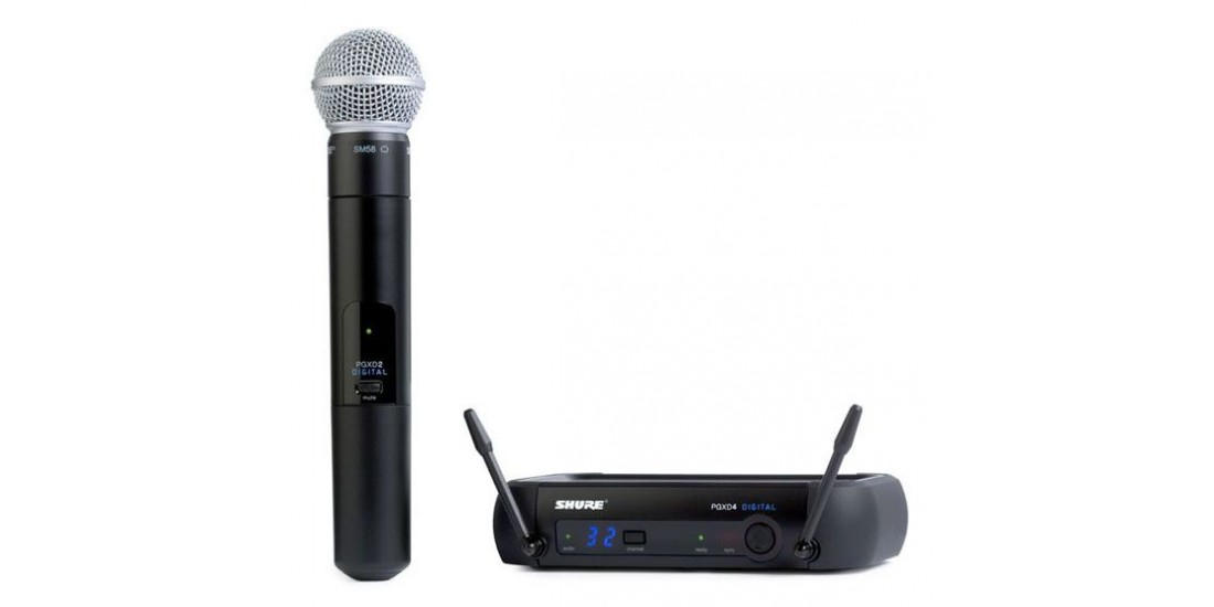 Shure PGXD24-SM58 Digital Handheld Wireless Microphone system