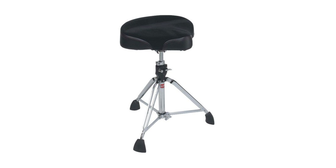 Gibraltar 9608M Heavy Duty Professional Drum Throne with Moto-Style Seat