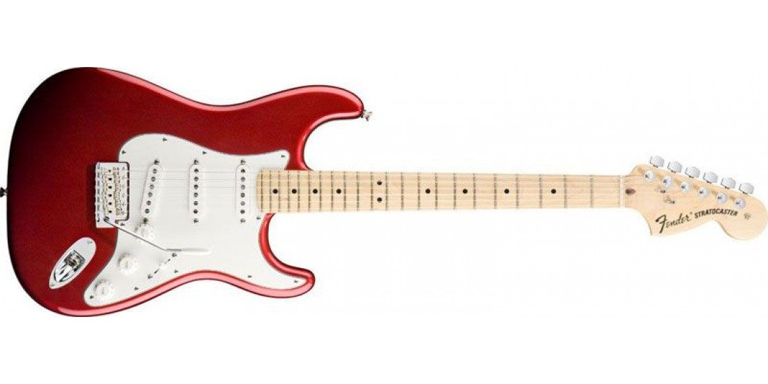 Fender American Special Stratocaster Candy Apple Red
