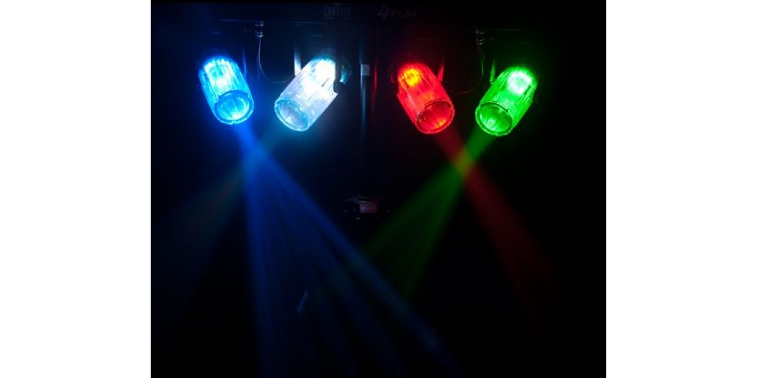 Chauvet 4 PlayCL Clear light bar