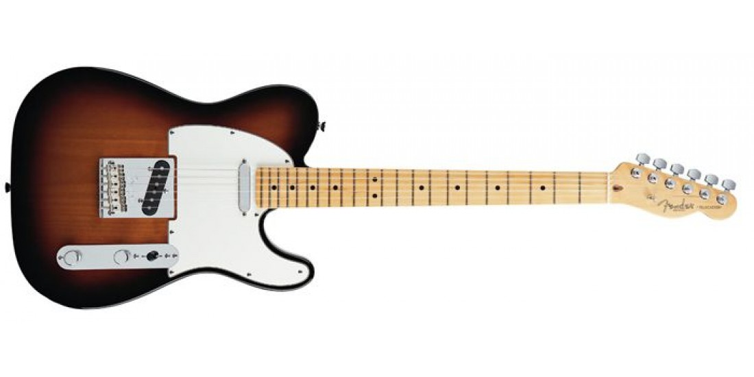 Fender American Standard Tele Maple Fingerboard 3-Color Sunburst