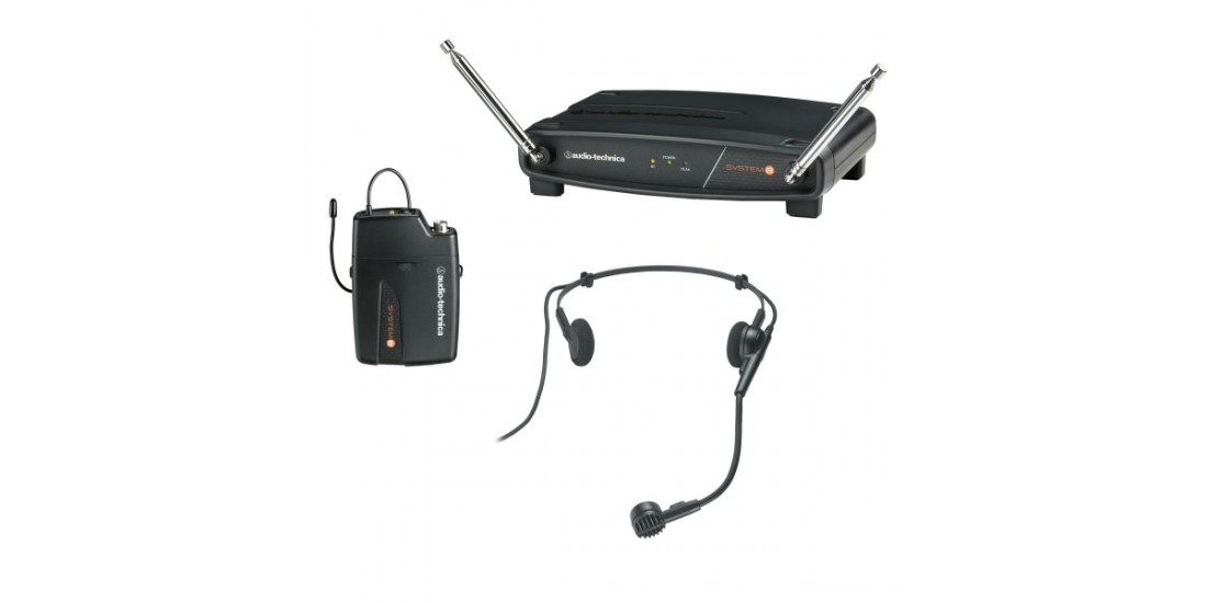 Audio Technica ATW-801H-T3 Wireless Headset System