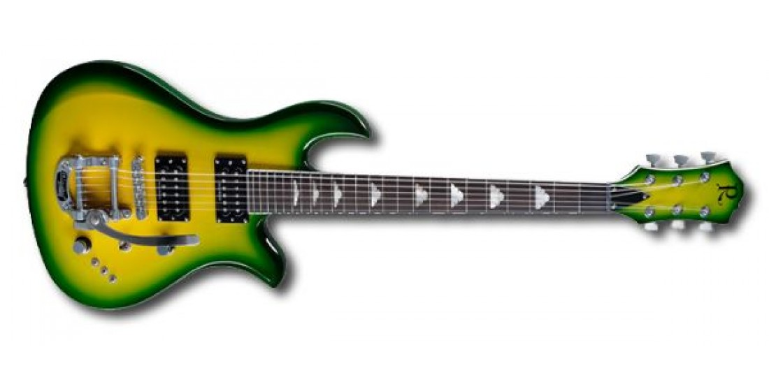B.C Rich 2012 Neil Giraldo Signature Eagle in Kato Green