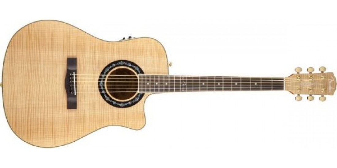 Fender T-Bucket 400CE Flamed Maple Top Electric Acoustic Guitar