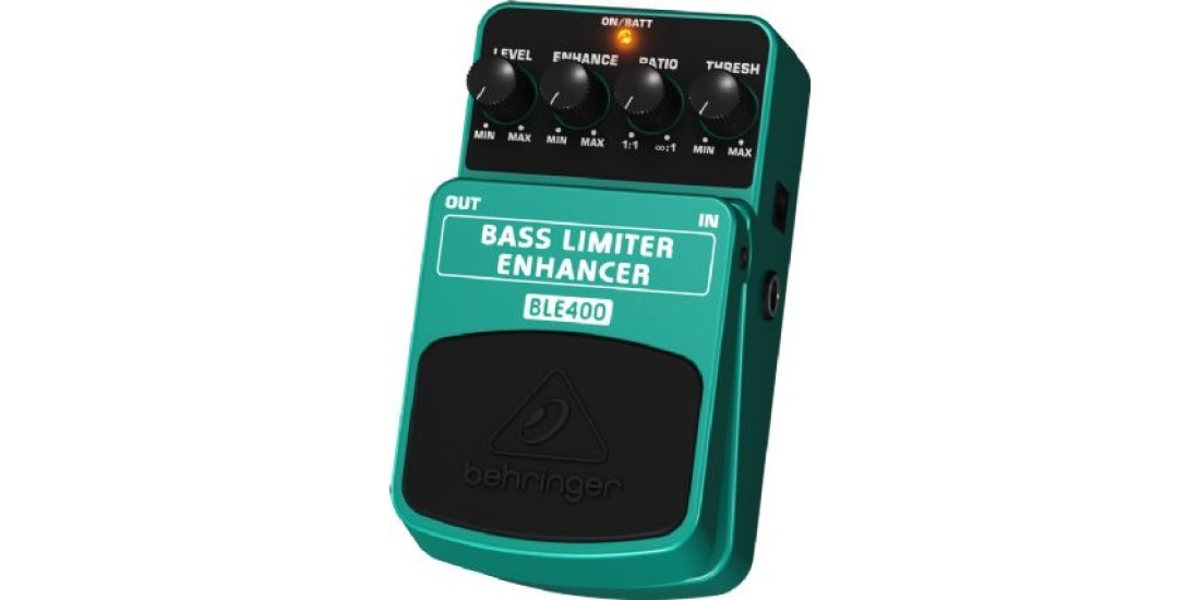 Behringer BLE400 Bass Guitar Limiter Enhancer Effects Pedal