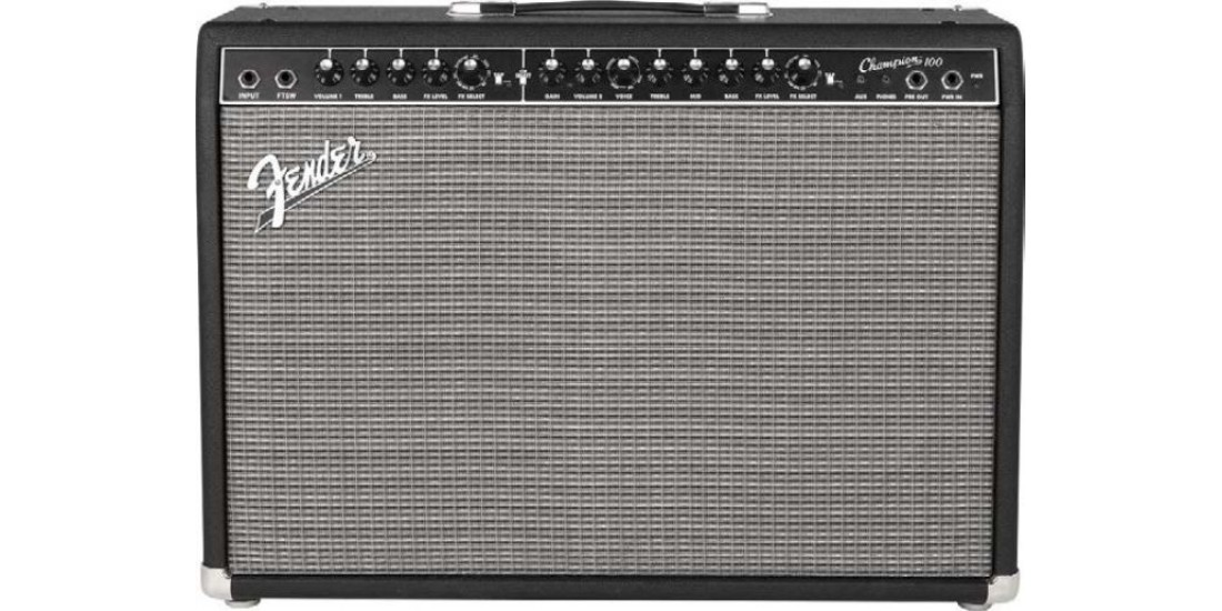 Fender  Champion  100  100W  Guitar  Combo  Amp  with  Effects