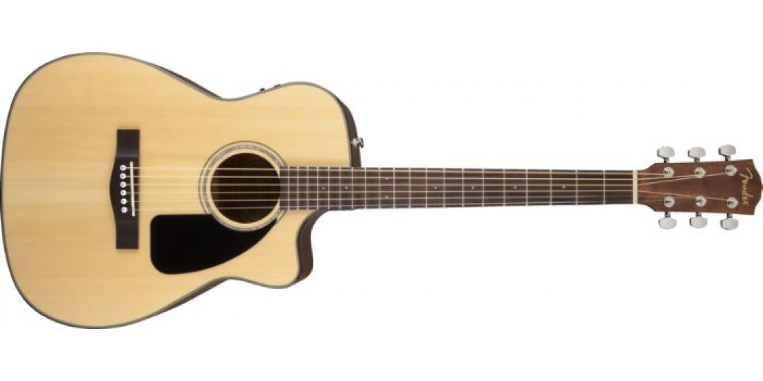 Fender CF-60CE Folk Style Electric Acoustic Guitar with Case