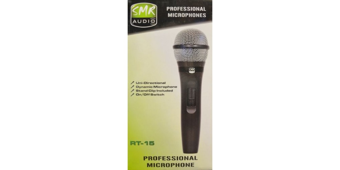 SMR RT-15 Handheld Microphone 3 Pack