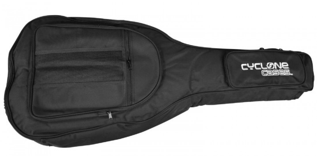 Cyclone CCGB16830C Classical Guitar Bag with 3 Pockets