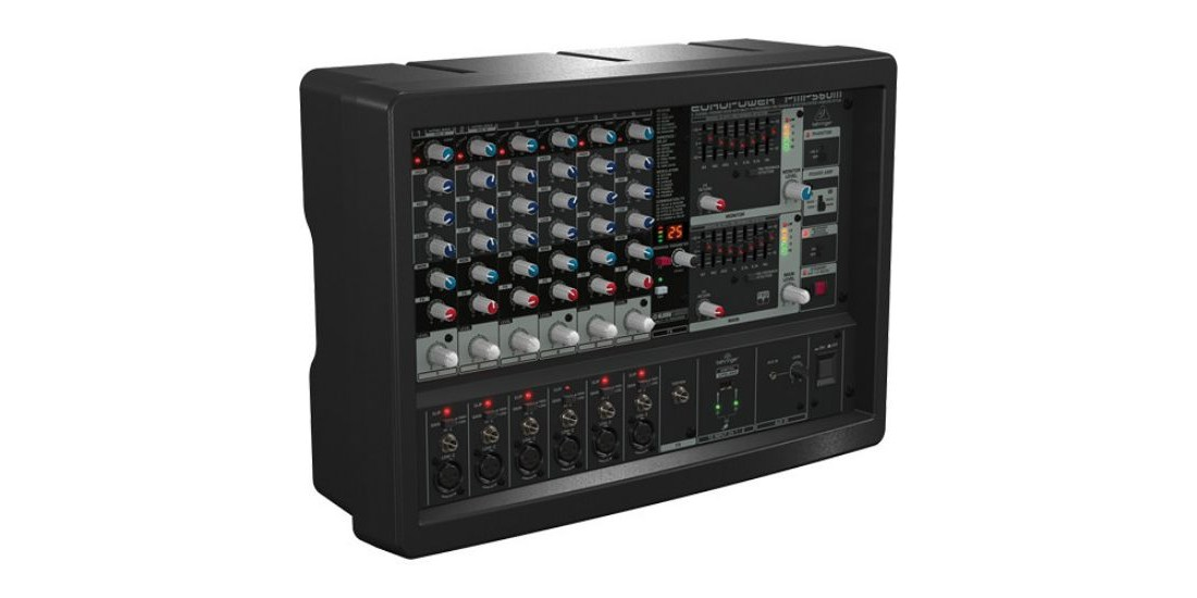 Behringer  PMP560M  500-Watt  6-Channel  Powered  Mixer