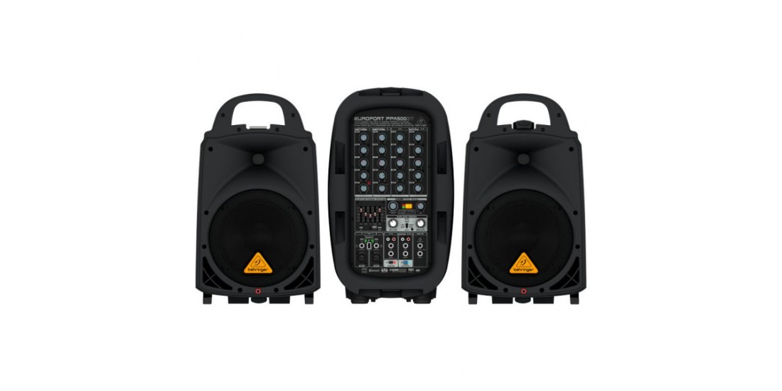 Behringer  PPA500BT  500  Watt  6-Channel  PA  System