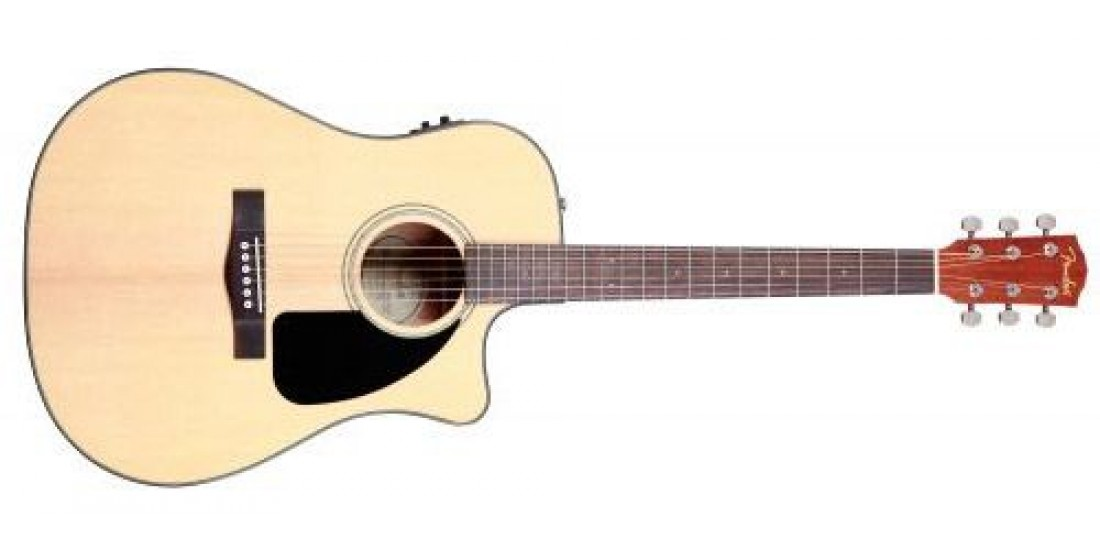Fender CD60CE Acoustic Electric Guitar Natural
